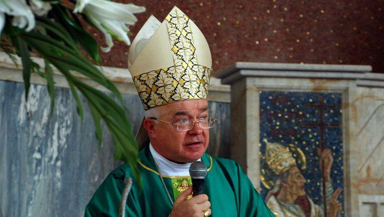 Voormalig aartsbisschop Josef Wesolowski. Beeld REUTERS