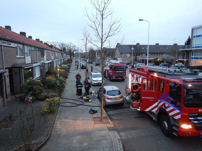 Dode na brand in woning