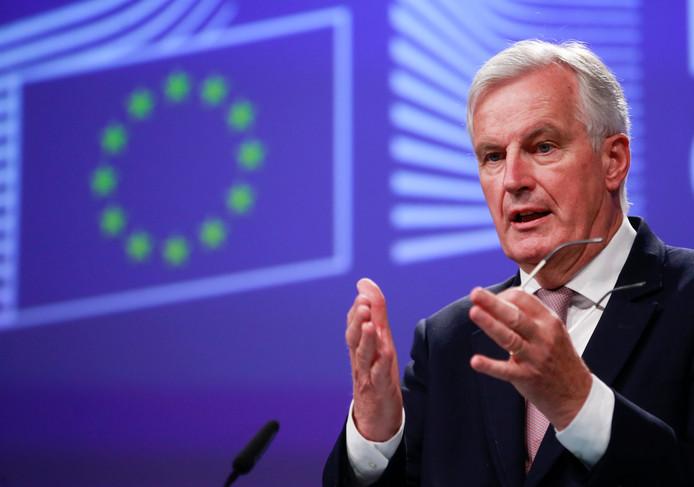 EU-hoofdonderhandelaar Michel Barnier.
