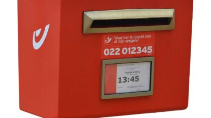 Rode brievenbus in Yzerwegstraat verdwijnt