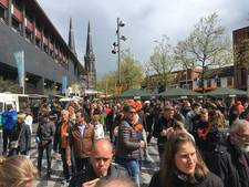 VIDEO: Na de koning komt de trek in Tilburg