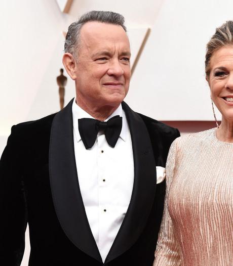 Tom Hanks en vrouw weer terug op Amerikaanse bodem