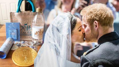 Goodiebag huwelijk Meghan en Harry nu al verkocht voor bijna 25.000 euro