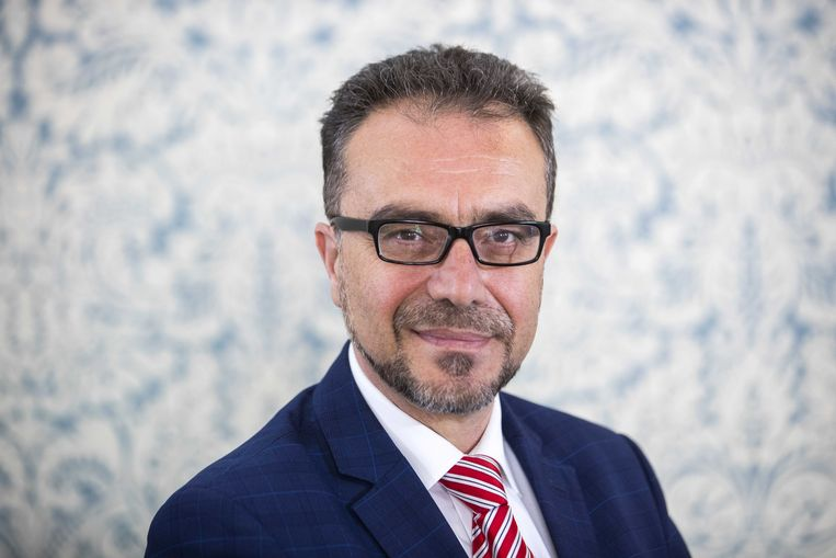 Ayhan Tonça, EU-lijsttrekker namens DENK. Beeld ANP