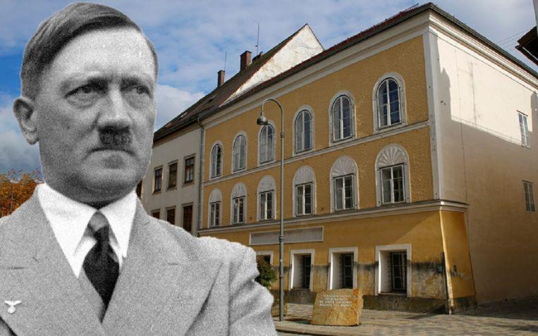 Adolf Hitler zag op 20 april 1889 het levenslicht in een huurappartement op de eerste verdieping van dit pand in Braunau am Inn.