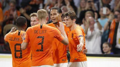 Oranje met invaller Danjuma pakt de scalp van lamlendig Duitsland en tankt vertrouwen voor burenduel met Duivels