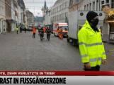 Terreinwagen raast door voetgangersgebied Trier: twee doden