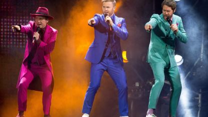 Wereldtour Take That ingeperkt