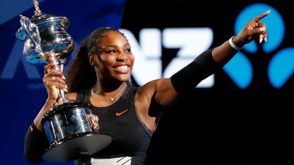 """Serena Williams: """"Geen geheim dat ik graag 25 grandslamtoernooien op mijn palmares wil zien"""""""