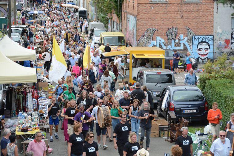 Duizenden bezoekers trokken zondag naar Doel voor de 45e editie van de Scheldewijding.