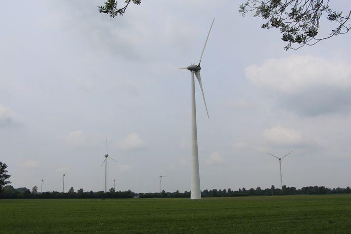 De windmolens van het Aaltense windpark Hagenwind dragen bij aan wat in Gelderland nu al aan duurzame stroom wordt geproduceerd.