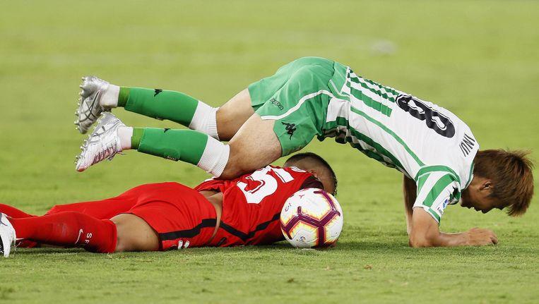 Dazn beschikt voor een aantal landen onder meer over de streamingrechten voor de Spaanse La Liga Beeld epa