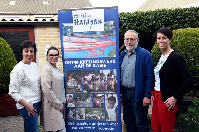 Stichting Harapan, met voorzitter Jos van der Heijden.