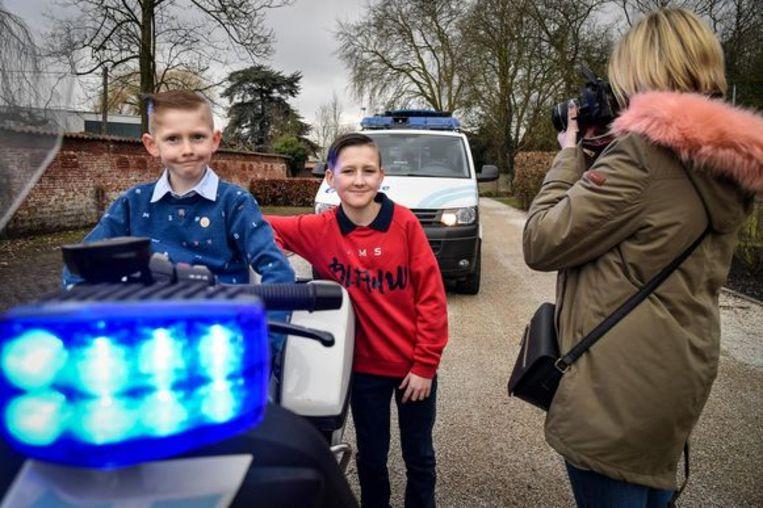 Ook vorig jaar organiseerde de politiezone al een fotosessie.