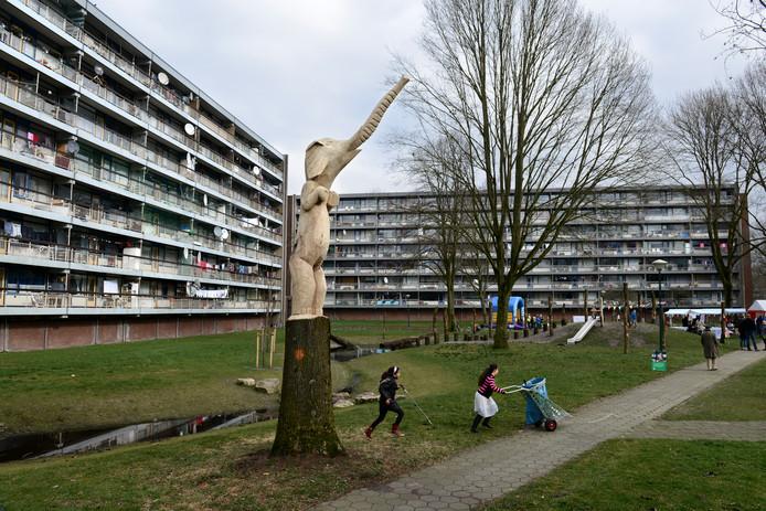 Soest heeft onder meer sociale huurflats in Smitsveen.