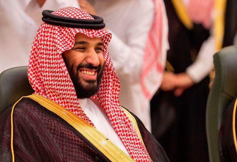 De Saudische kroonprins Mohammad Bin Salman. Beeld AFP