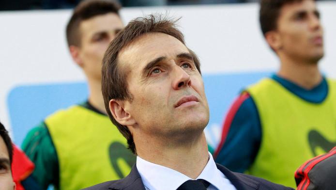 Le sélectionneur espagnol est bien évidemment déçu d'avoir été évincé de son poste