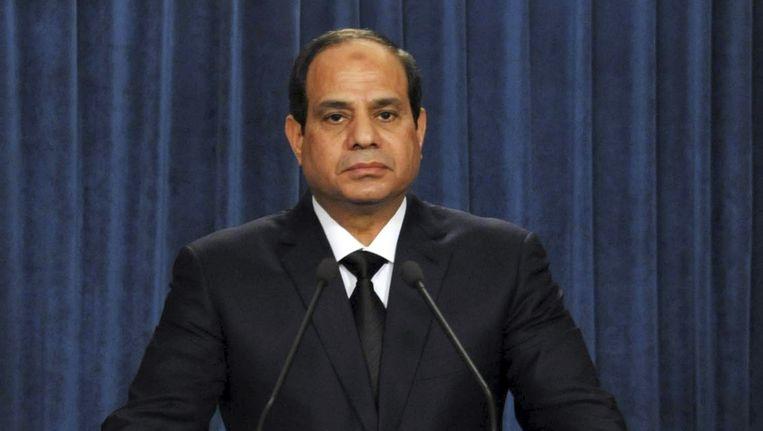 Abdel Fattah al-Sisi. Beeld reuters