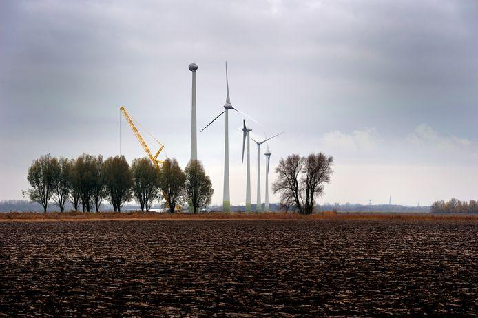 De meeste windmolens in Etten-Leur staan er al jaren. Als het om windenergie gaat, levert Etten-Leur een meer dan behoorlijke bijdrage binnen de regio.