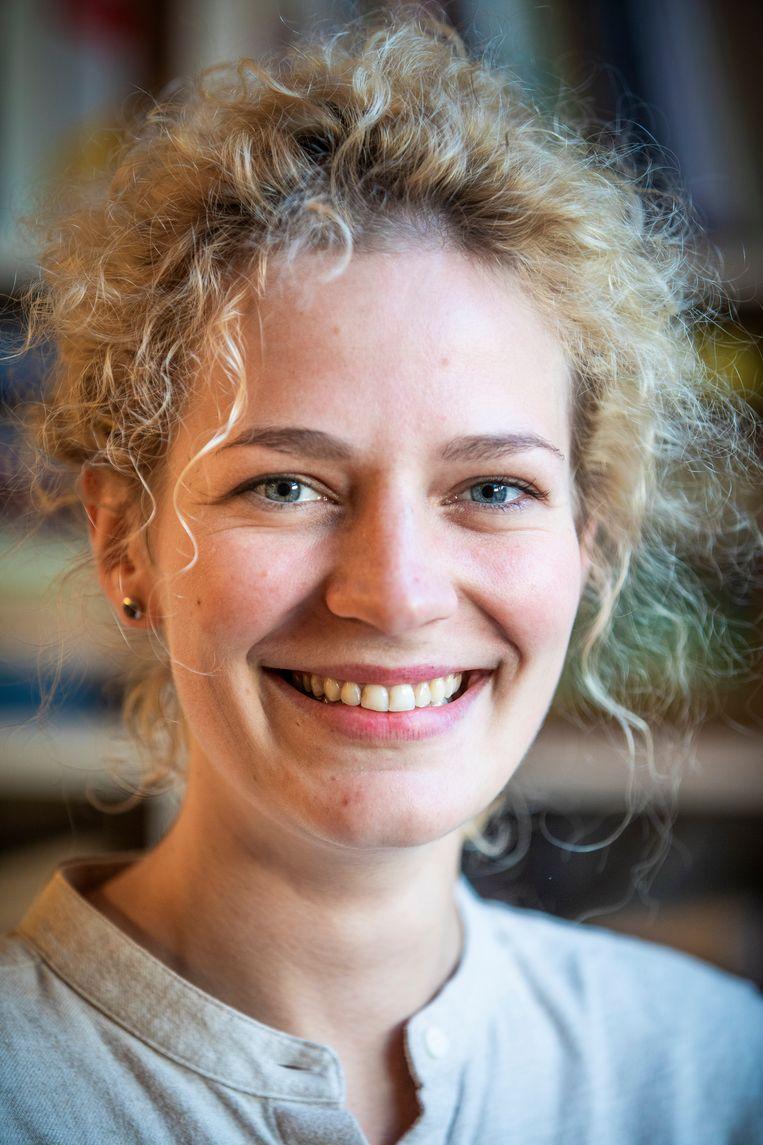 Aiste Eidukevičiūte uit Litouwen Beeld Freek van den Bergh / de Volkskrant