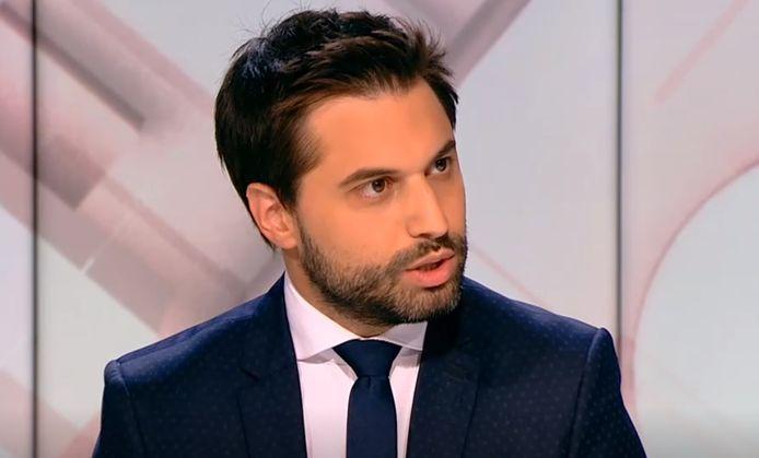 Le président du MR, Georges-Louis Bouchez.