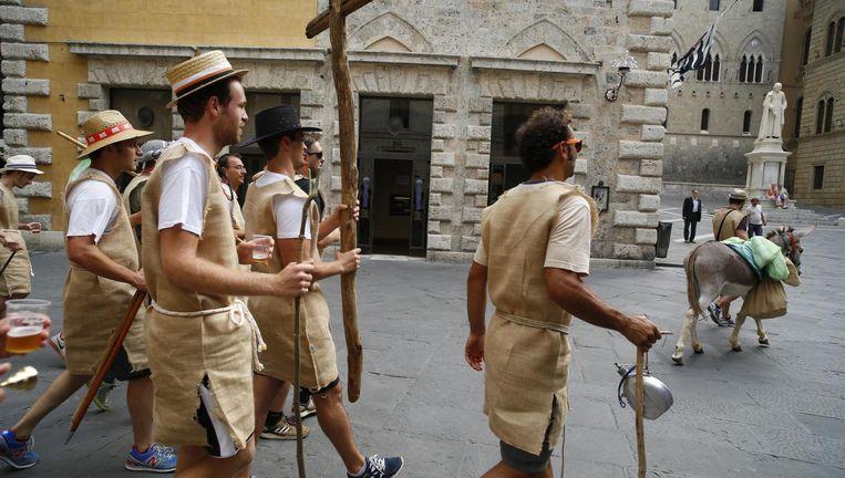 Het Italiaanse referendum duwt de oudste bank ter wereld naar de rand van de afgrond Beeld getty