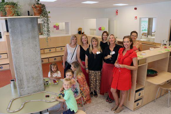 Liese Meuris, Sanne Horemans, Pacale Verkammen, Trine Van Thielen, Els Alen, Annemie Hoet en Vanessa Verstrepen zijn volledig klaar om vanaf maandag hun intrede te nemen in het Huis van het Kind in Herenthout