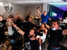 """Beerschotsupporters volgen de overbodige promotiefinale: """"Nu gaan we verdiend naar eerste klasse"""""""