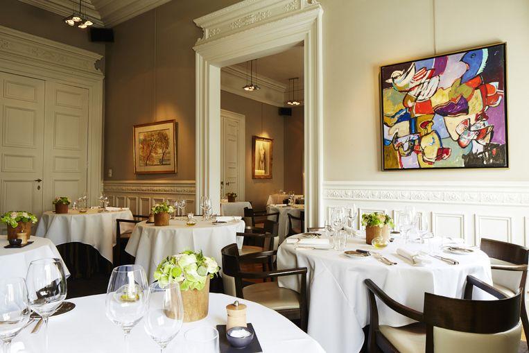 Restaurant: De Karmeliet in Brugge.'Ik kom er smaken tegen uit mijn jeugd. Kabeljauw, zeevruchten.' Beeld .