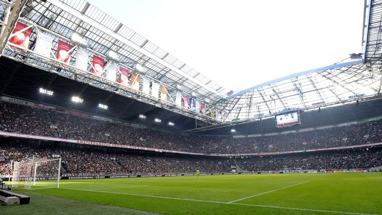 De Arena, de komende week decor van twee topwedstrijden. Beeld pro shots