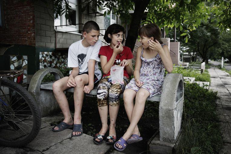 Donbas regio in Oost-Oekraïne. Beeld Daniel Rosenthal / de Volkskrant