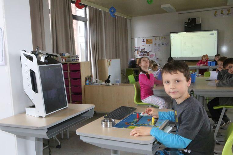 Kasper Cornelis bedient elke dag de camera van Bednet.