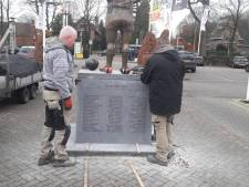 Standbeeld van Willem II-clubicoon Jan van Roessel weer in ere hersteld