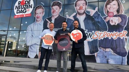 Van pizza's naar Club Rouge: Drie collega's DPGmedia organiseren afterwork met tal van top-dj's voor Rode Neuzen Dag