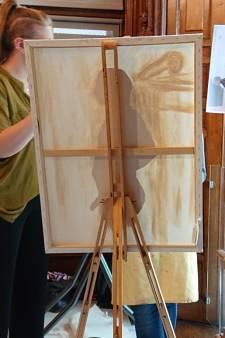 Ook zonder model wagen Osse kunstenaars zich bij Jan Cunen aan  naaktportret