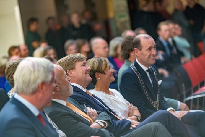 Koning Willem-Alexander bij ROC Twente