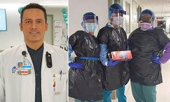 Kious Kelly (48) is dinsdag (lokale tijd) bezweken aan het coronavirus. Volgens zijn collega's is zijn dood te wijten aan het gebrek aan beschermingsmateriaal.