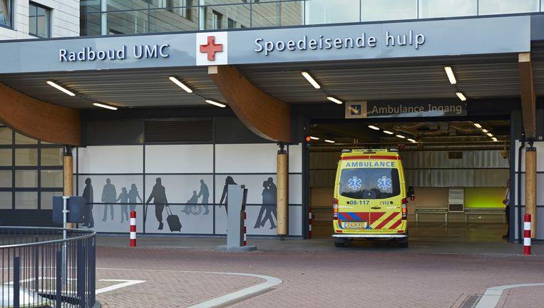 Het exterieur van het RadboudUMC in Nijmegen. Beeld anp