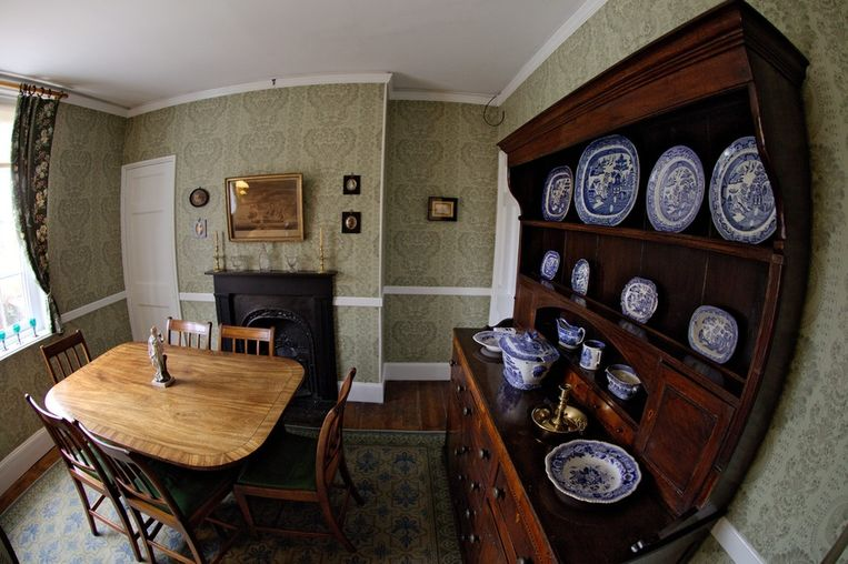 Het Charles Dickens Birthplace Museum in Portsmouth. © EPA Beeld