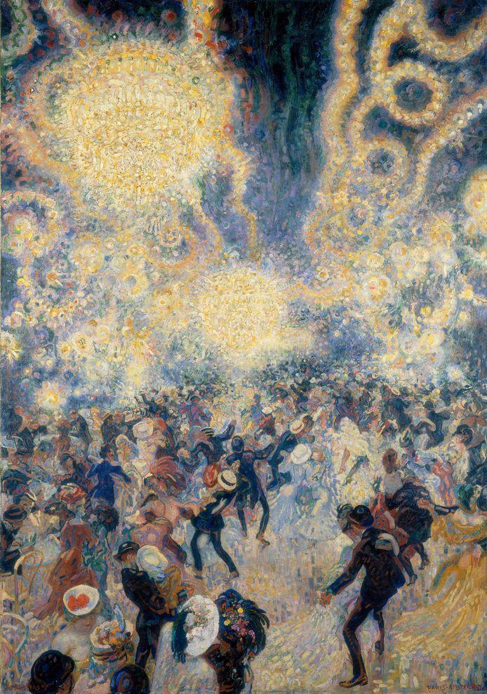 Jan Sluijters, Bal Tabarin, 1907, c/o Pictoright Amsterdam 2018. Collectie Stedelijk Museum Amsterdam