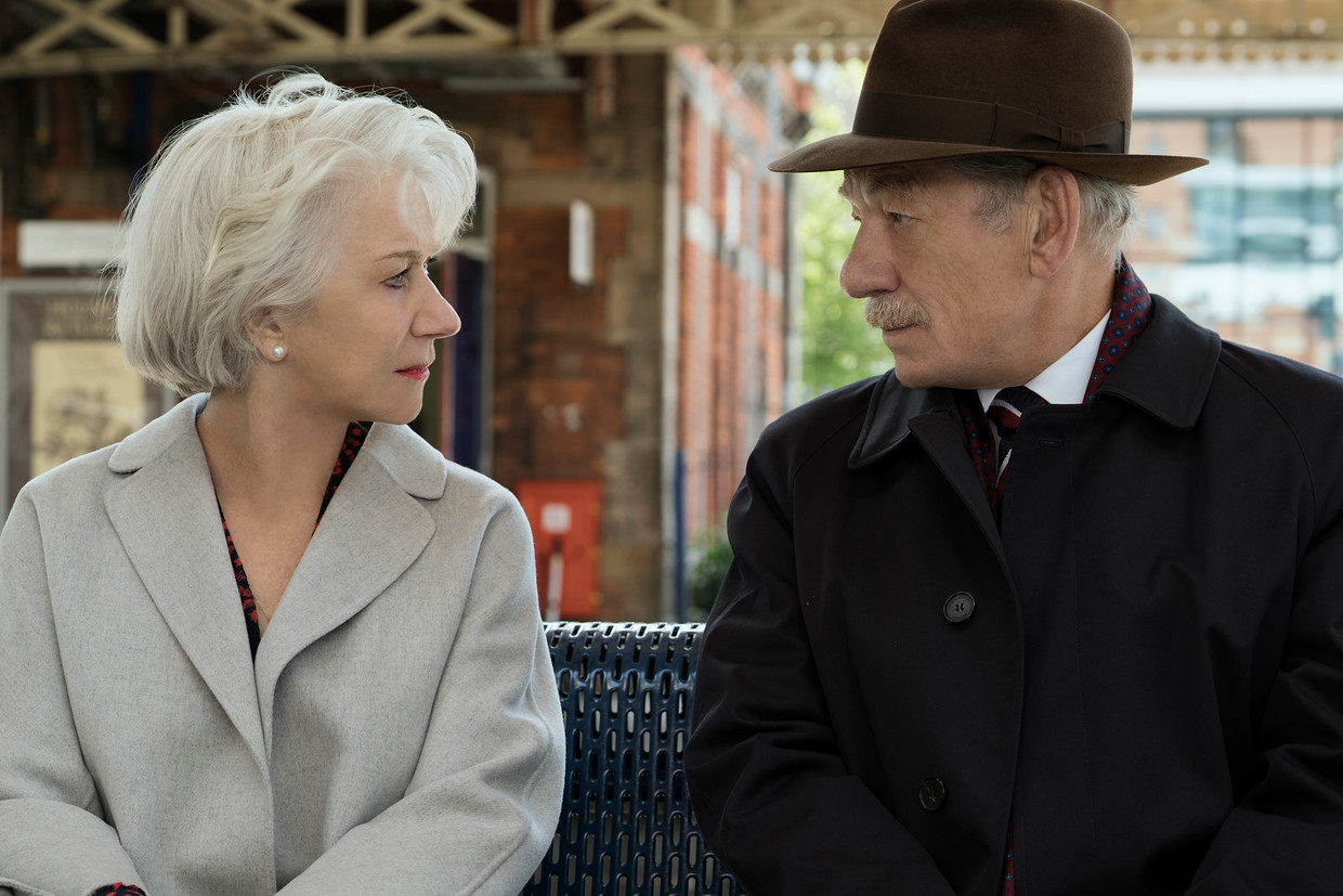 Helen Mirren en Ian McKellen in 'The Good Liar'.