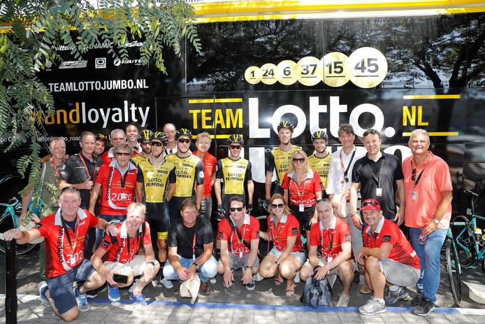 Een Utrechtse delegatie was vorig jaar bij de  Vuelta in Spanje. Dit jaar zijn ze er met een forse delgatie opnieuw.