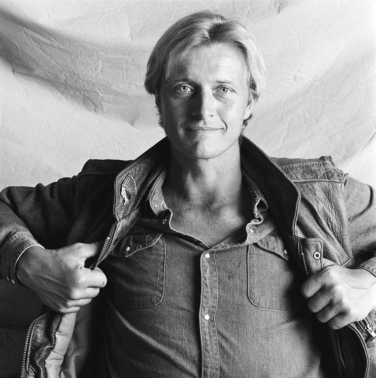 Rutger Hauer in 1982. Beeld null