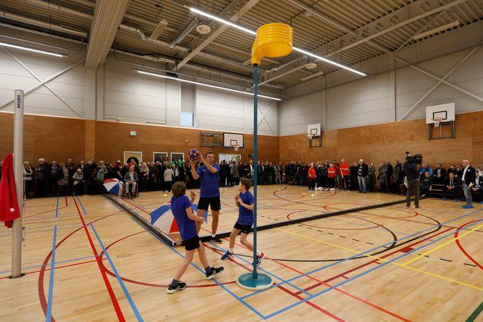 De Erasmushal in de Vlaardingse Westwijk werd begin dit jaar geopend.
