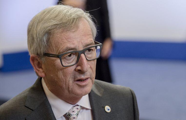 Voorzitter van de Europese Commissie Jean-Claude Juncker. Beeld anp