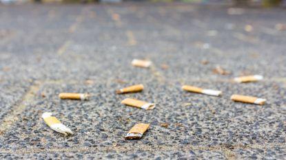 Vanaf september GAS-boetes van 55 euro voor peuken en kauwgom op de grond