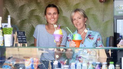 """'Hawaïaanse ijsjes' op het strand van Knokke-Heist: """"Verfrissend én amper 60 calorieën"""""""