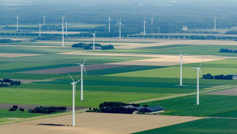 Windmolens in Flevoland. Beeld ANP