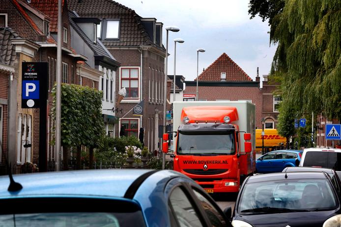 In Meerkerk komt een vrachtwagenverbod.