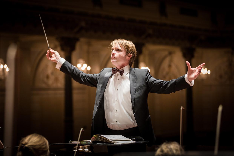 Dirigent Bas Wiegers: 'Dirigent Bas Wiegers: 'Voor mij was meteen duidelijk dat ik dit per se wilde doen. Voor mezelf, en ook voor Reinbert.'
